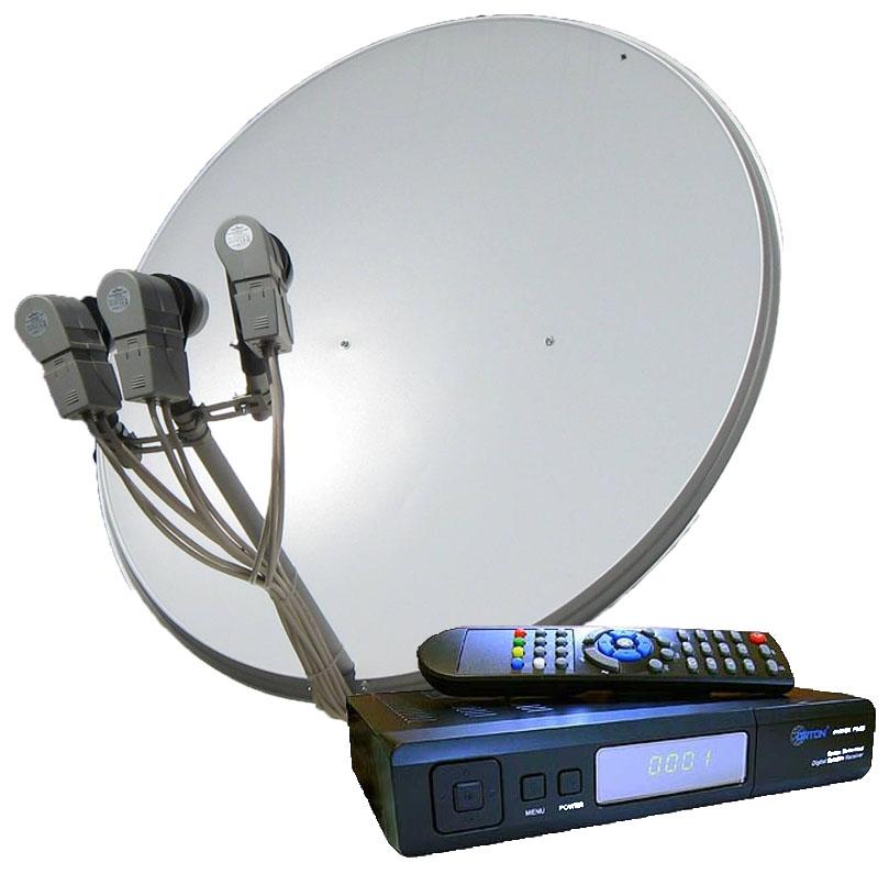 Антенны спутникового телевидения